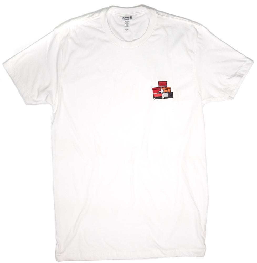 Image of  Simply Stacked Tee (White)