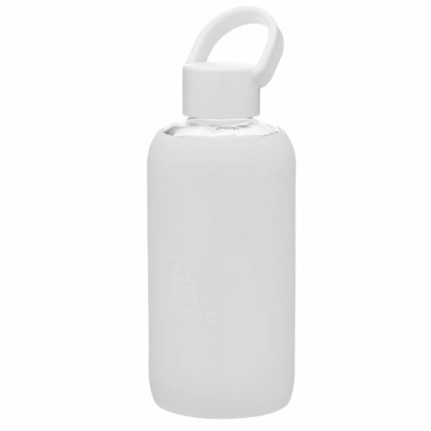 Image of Drikkedunk i glas 420 ml - hvid