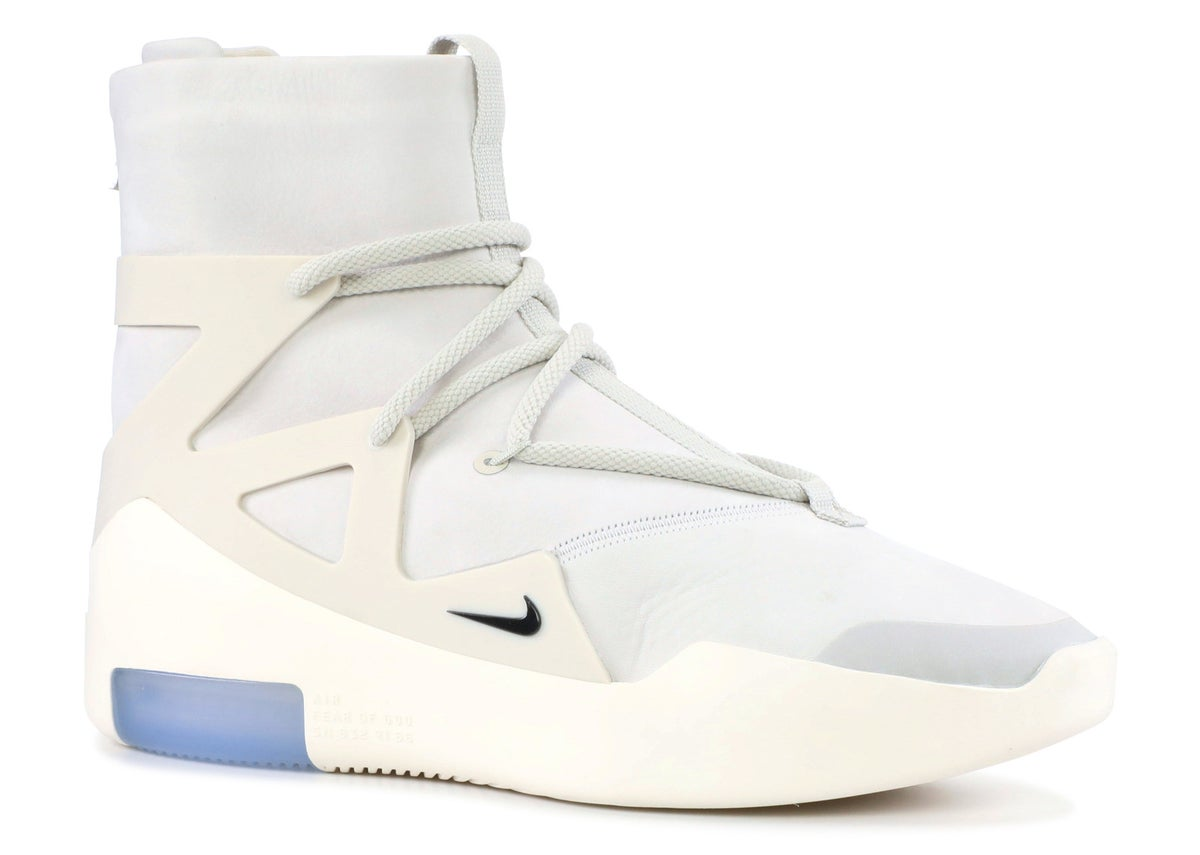 Image of NIKE AIR FEAR OF GOD 1 'LIGHT BONE'