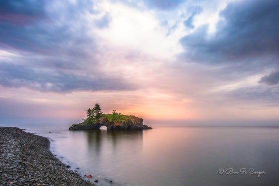 Image of Sunrise at Hollow Rock