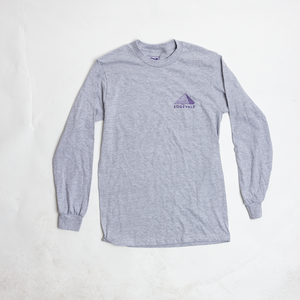 Image of Desert Jerry Tee Long Sleeve - Gray