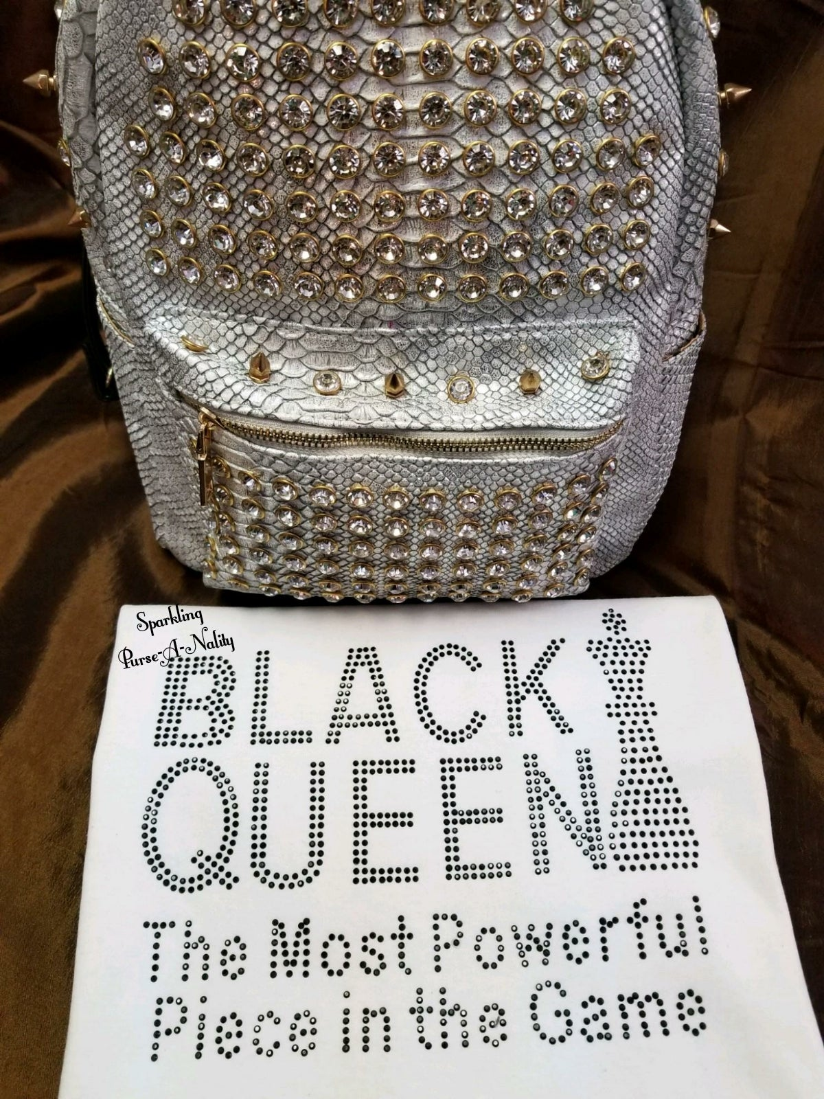 "Image of ""Sparkling"" Black Queen & Melanin Poppin'"