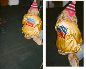 "Image of Limited edition ""Golden TRUX"" JACKET"