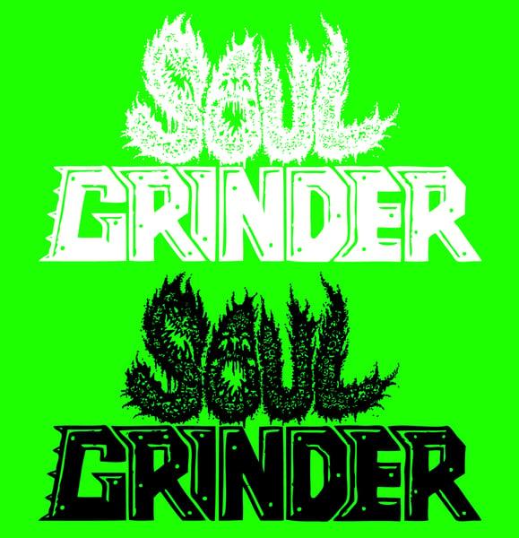 Image of SOUL GRINDER  Logo Vinyl Stickers