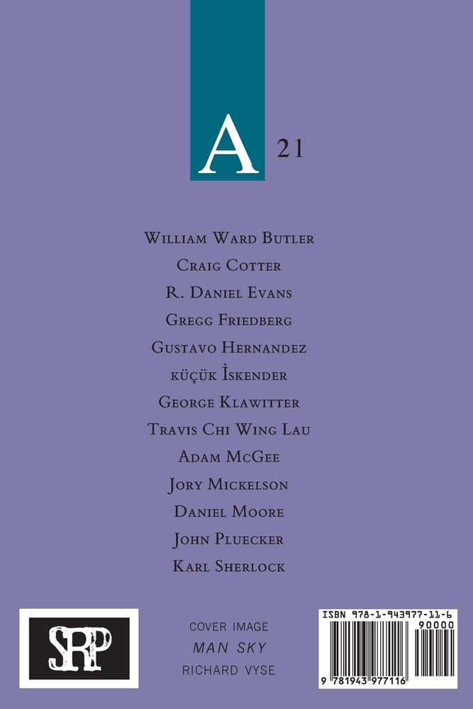 Image of Assaracus Issue 21: A Journal of Gay Poetry (Evans, İskender, Mickelson)