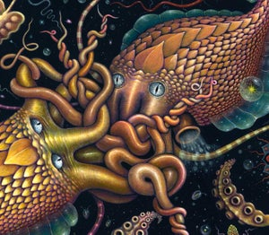 """Image of CEPHALOPODS - 20 x 24"""" Signed Limited Edition"""
