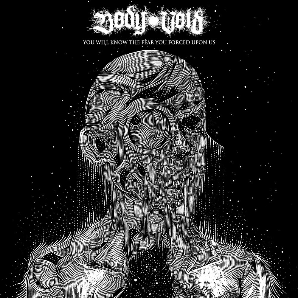 "Image of Body Void - You Will Know The Fear You Forced Upon Us 12"" (DC37)"