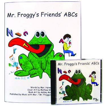 Image of Mr. Froggy's Friends' ABCs (CD/Coloring Book)