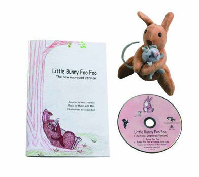 Image of Little Bunny Foo Foo Book (CD/Puppet)