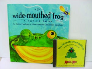 Image of The Wide-Mouthed Bullfrog Book with CD