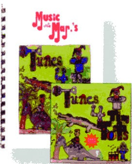 Image of Tunes For Tiny Tots CD and Book