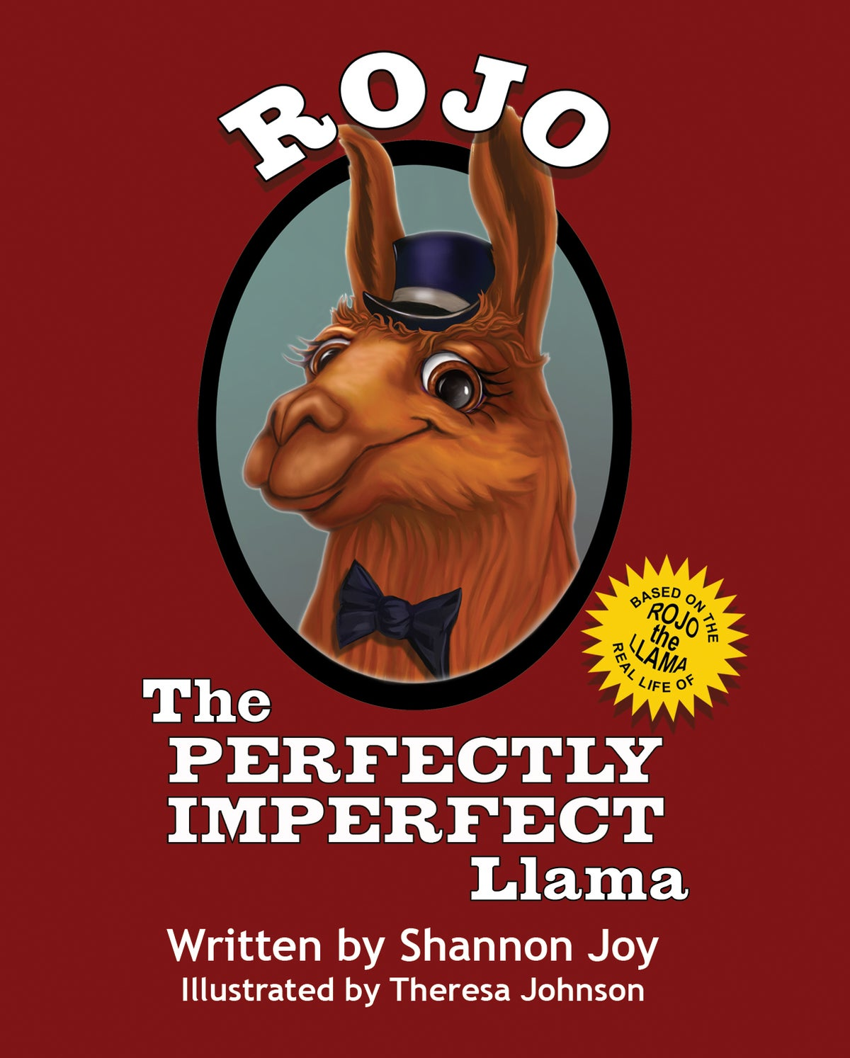 Image of Rojo, The Perfectly Imperfect Llama
