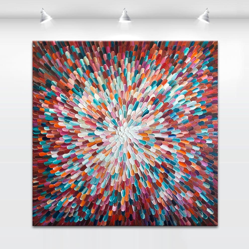 Image of Universum cypreus - 101x101cm
