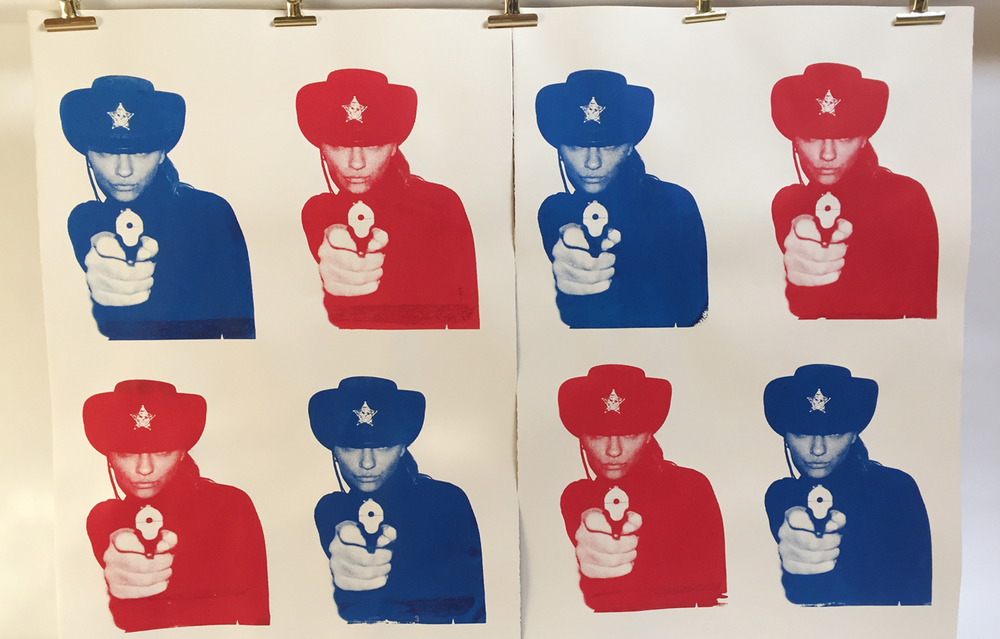 Image of sheriffs by chris heads .please enquire for price