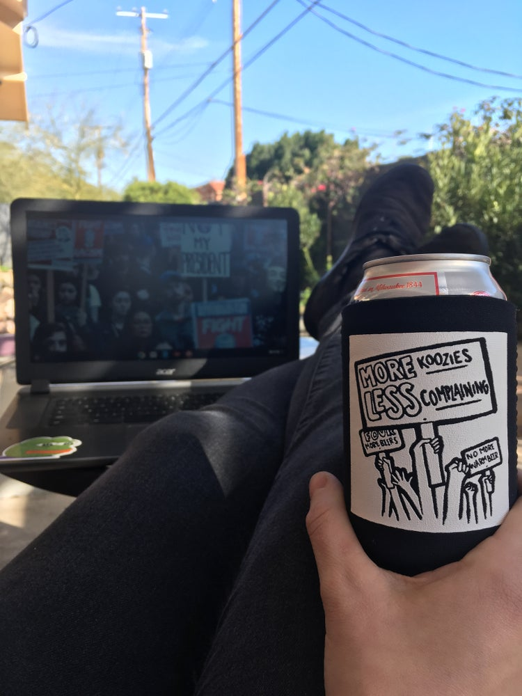 Image of Protest Koozie