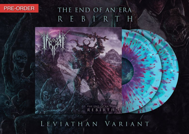 Image of INFERI - The End of an Era | Rebirth - LP [Leviathan]