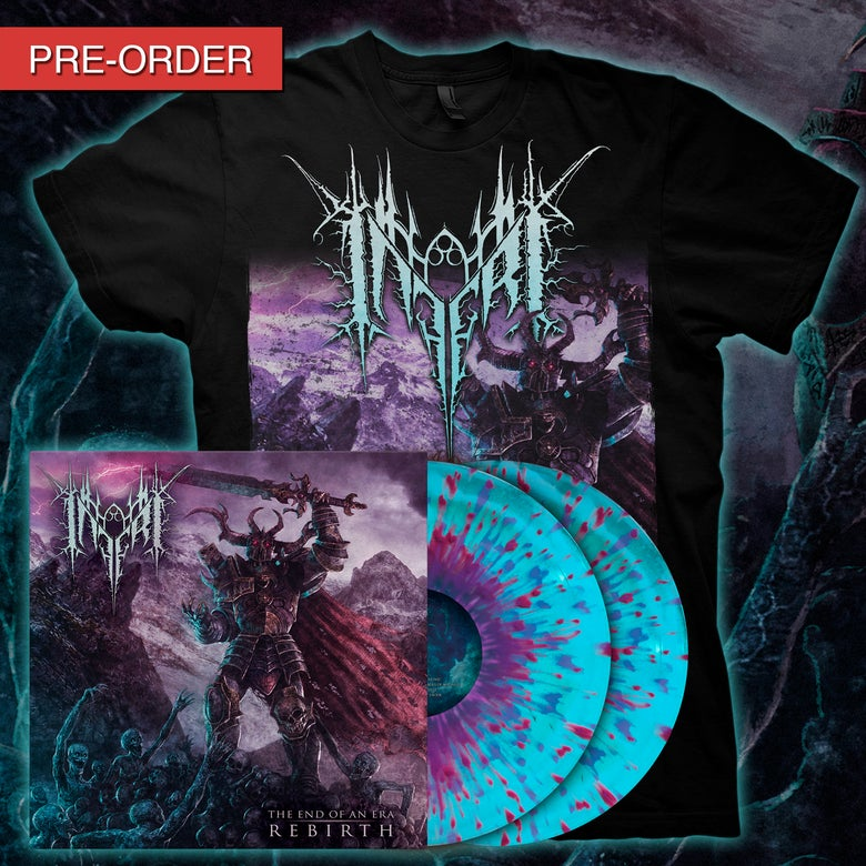 Image of INFERI - The End of an Era | Rebirth - LP/Tee [Leviathan]