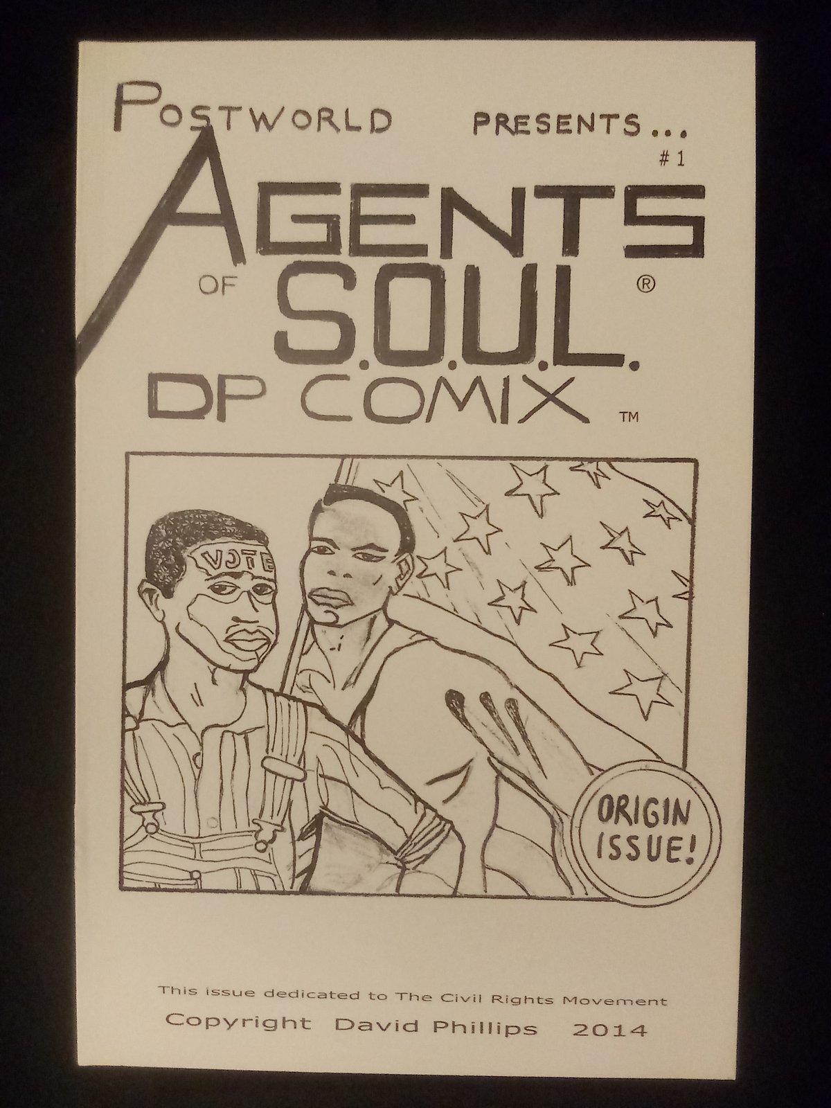 Image of Agents of S.O.U.L.  Origin Issue