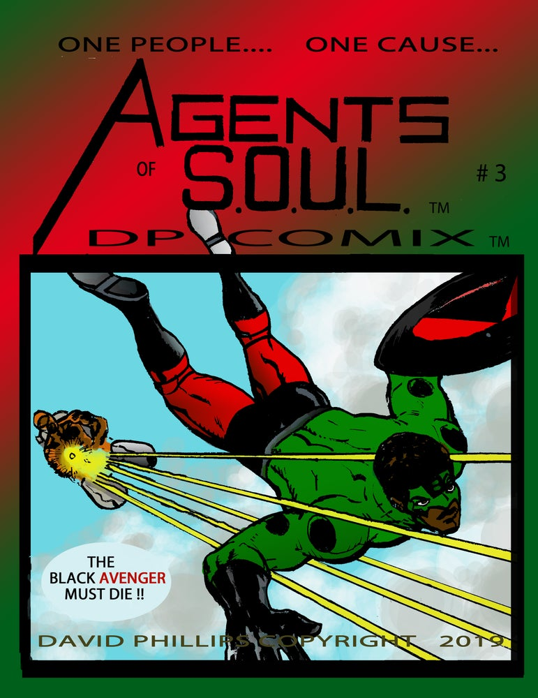 Image of Agents of S.O.U.L. #3