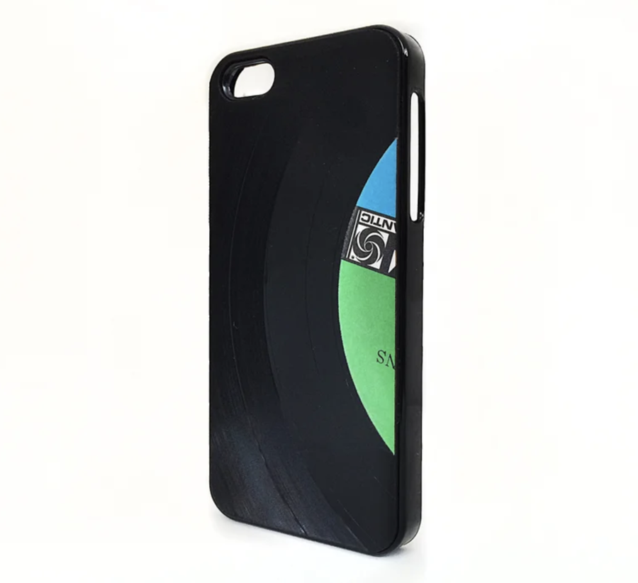 Image of Custom Label Vinyl Record Phone Case (NEW iphone X and 8+ in stock )