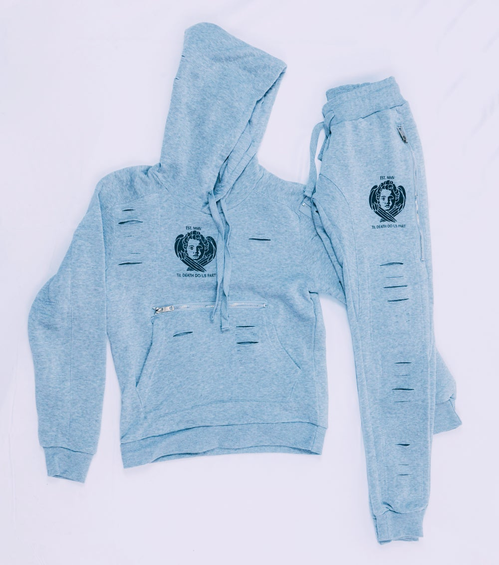 Image of Til Death Pull Over Cael Sweat Suit