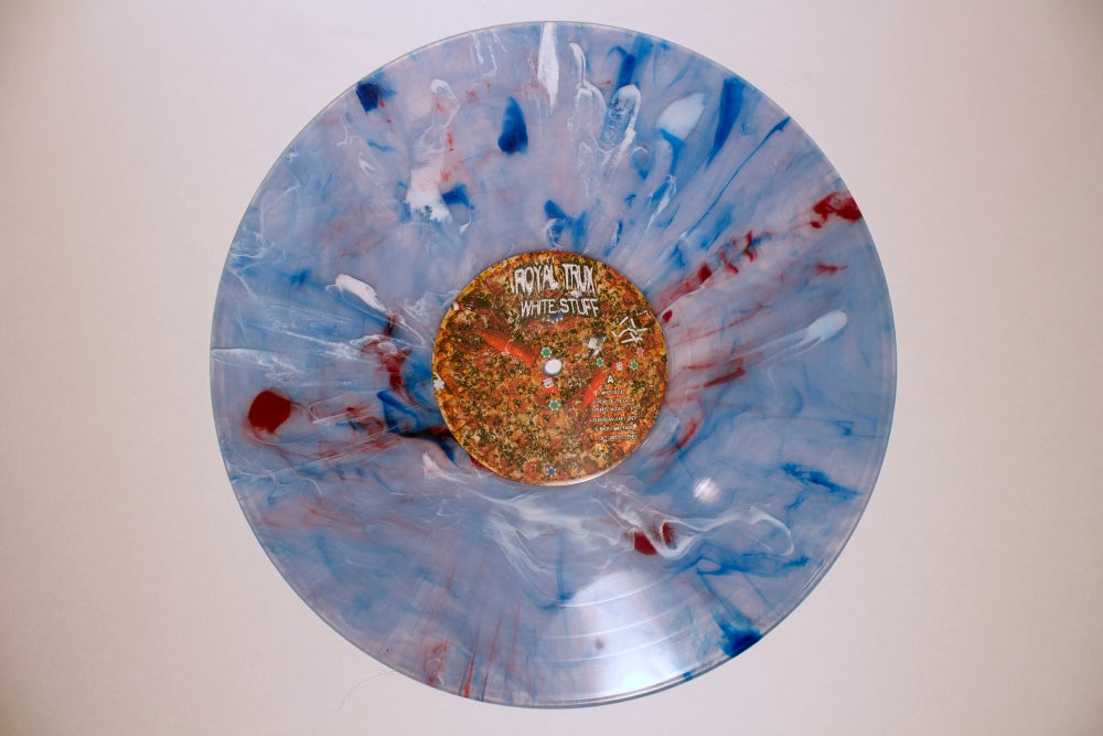 Image of WHITE STUFF ltd colored vinyl Album
