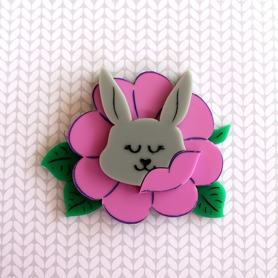 Image of Floral Bunny