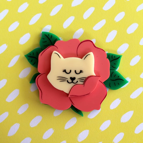 Image of Floral Kitty