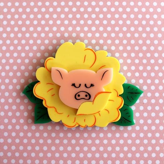 Image of Floral Piggy