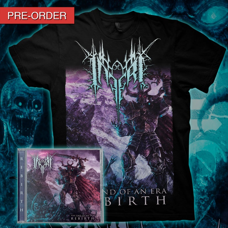 Image of INFERI - The End of an Era | Rebirth - CD/Tee bundle