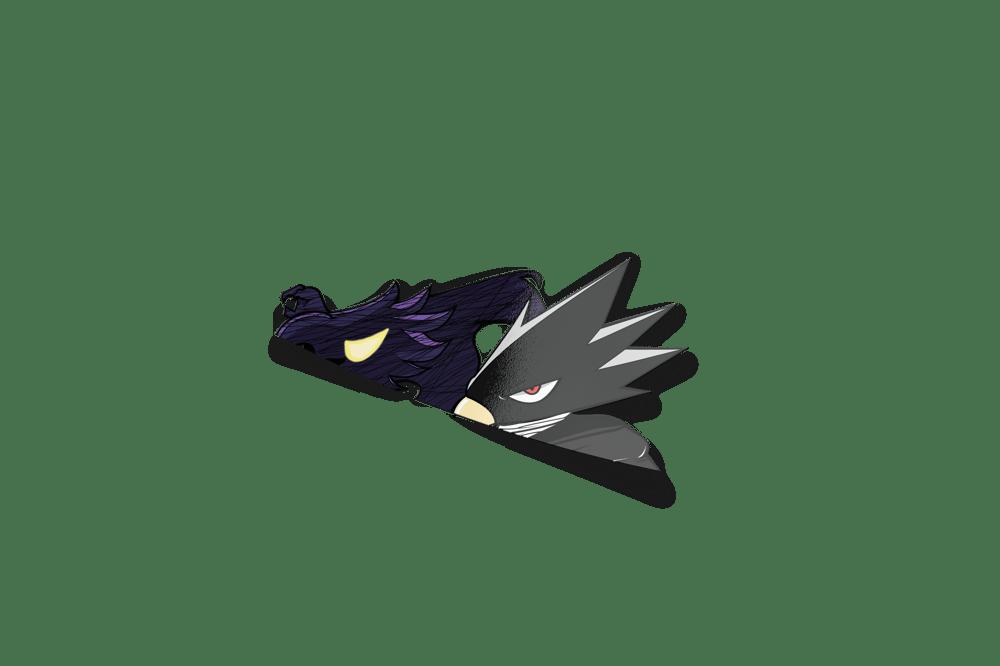 Image of Jet Black Hero Peeker