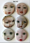 Vintage Doll faces