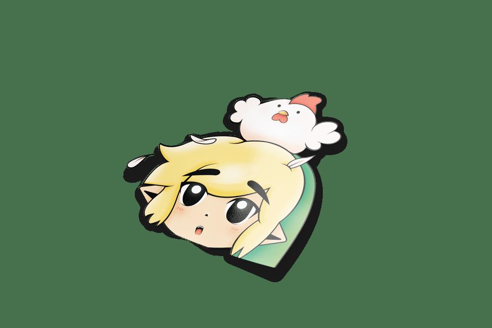 Image of Link & Cucco Peeker (Mini / Regular)