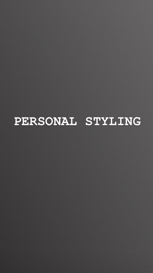 Image of PERSONAL STYLING AND WARDROBE REVITALISATION
