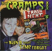 Image of LP. The Cramps : Trash Is Neat 5 (The Band That Time Forgot)  Ltd Edition.