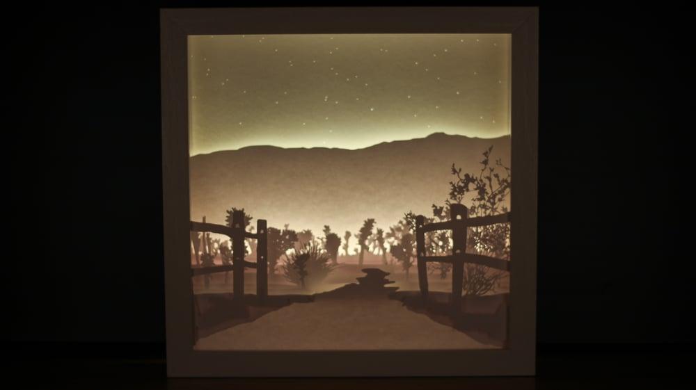 Image of Scene Three - Cholla Cactus Garden