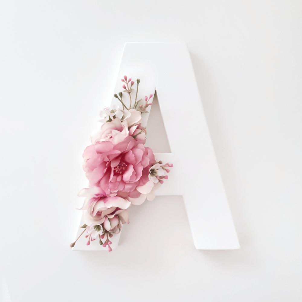 Image of Fleur Floral Letter