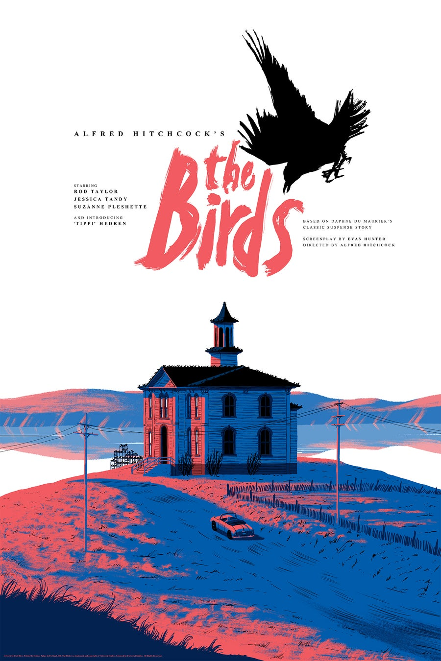 Image of The Birds by Alfred Hitchcock
