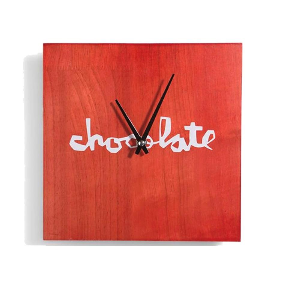 Image of Chocolate Skateboards Chunk Logo Wall Clock