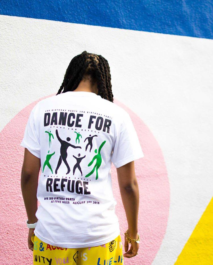 Image of Dance For Refuge 3rd Birthday T-Shirts