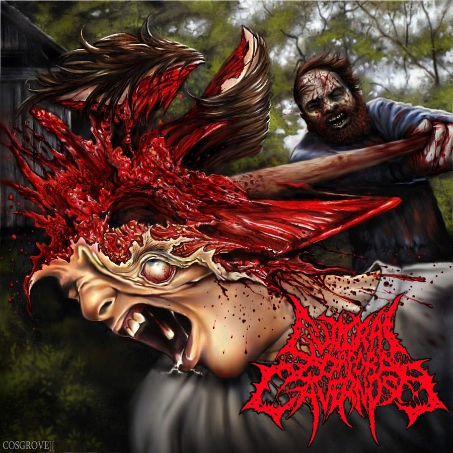 "Image of Official Guttural Corpora Cavernosa ""Munching on the Red Carpet"" Debut album by Brutal Reign"