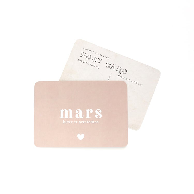Image of Carte Postale MARS