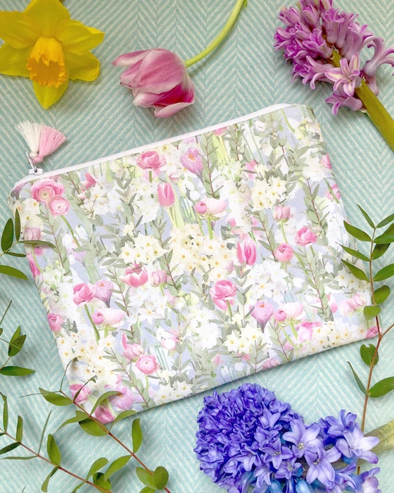 Image of Spring Joy Fabric Pouch