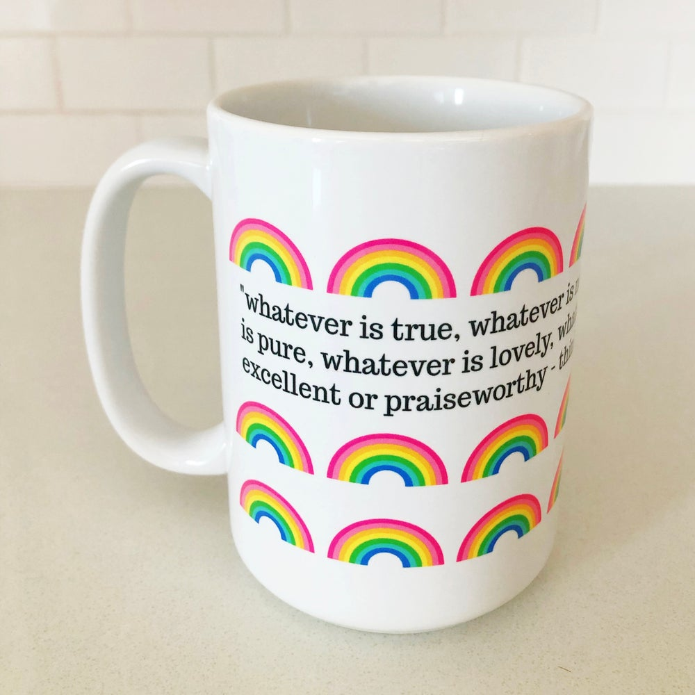 Image of Mini Rainbow Verse Mug