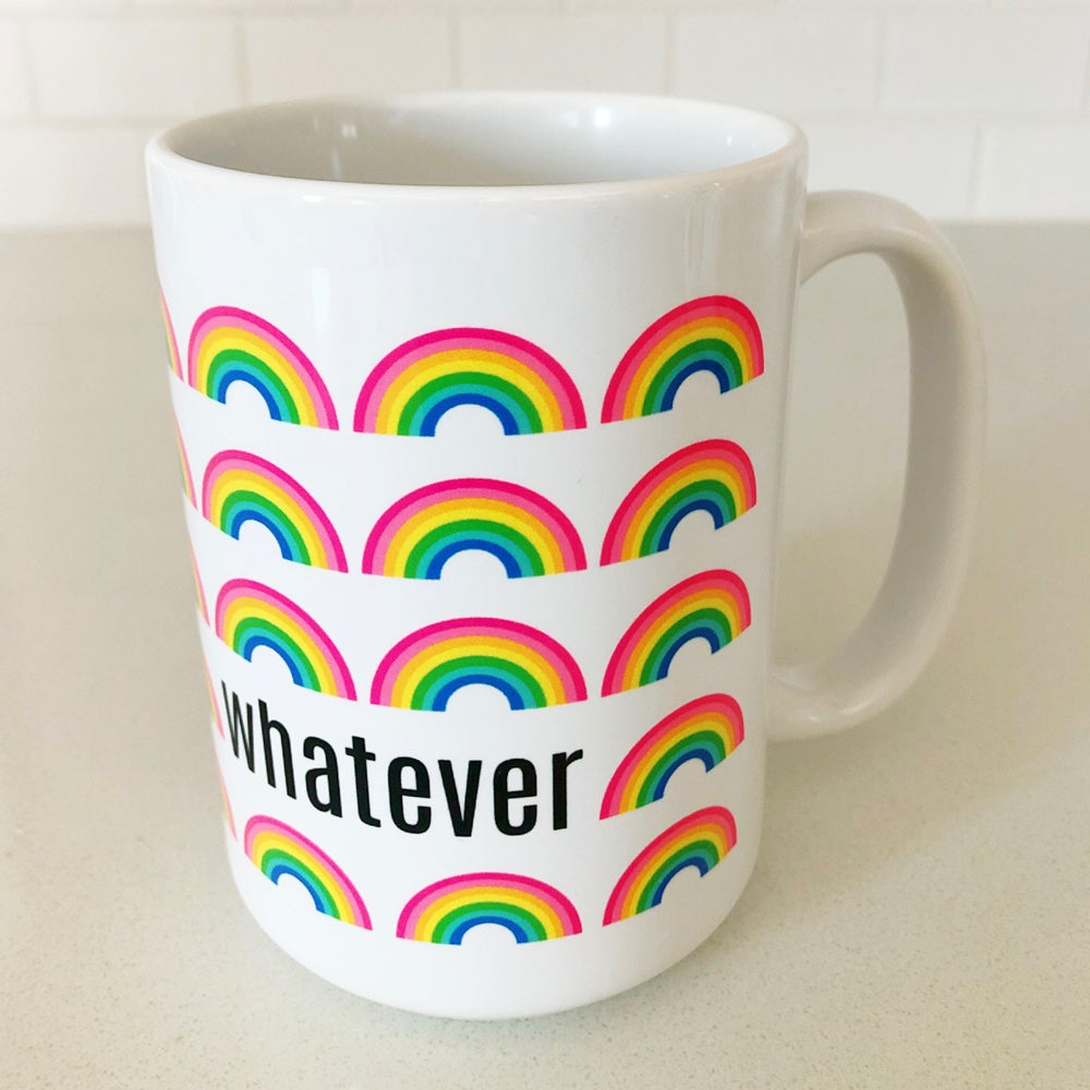 Image of Mini Rainbows Whatever Mug