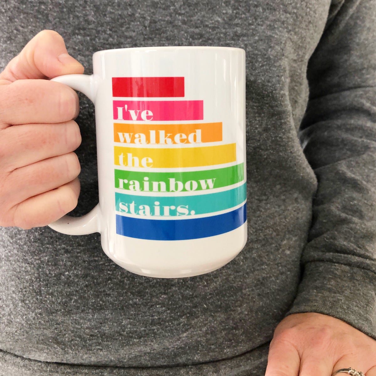 Image of I've walked the rainbow stairs Mug