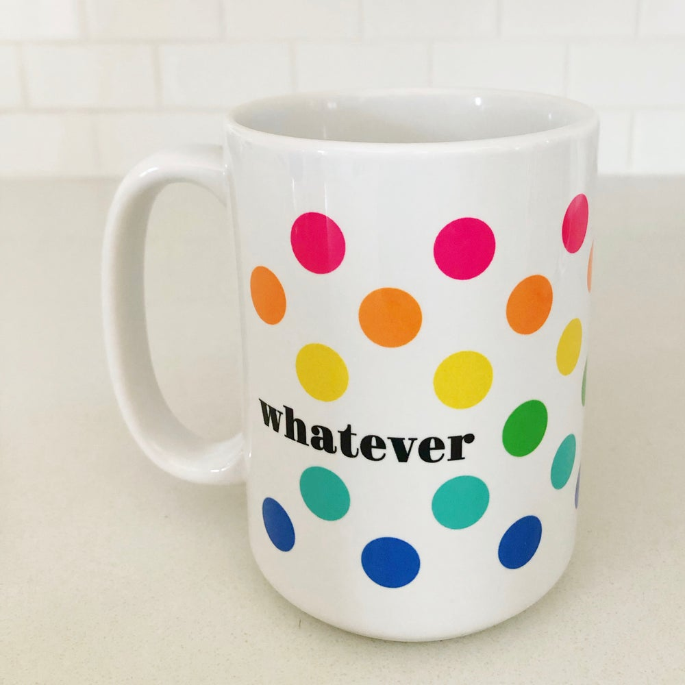 Image of Polka Dot Whatever Mug