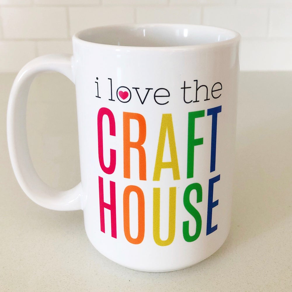 Image of i love the CRAFT HOUSE mug