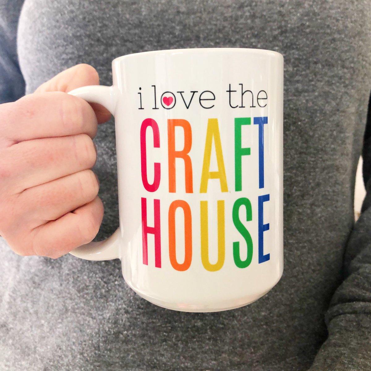 Image of i love the CRAFT HOUSE mug
