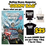 """Image of LIMITED TIME ONLY - Rolling Heavy Magazine #15 """"Goody Bag"""""""